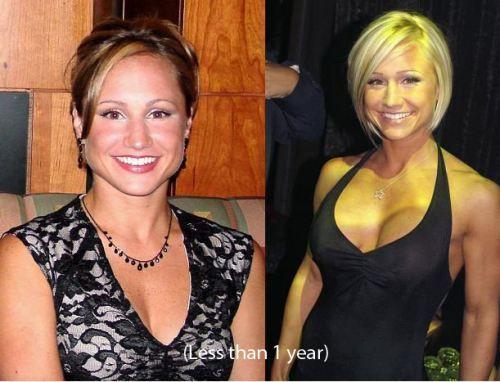 Jamie eason before and after implants jamie eason hair pinterest jamie