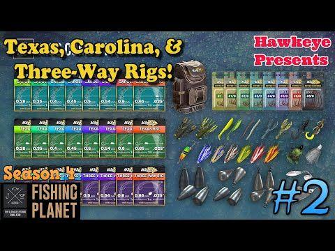 Fishing Planet 2 S4 Texas Carolina Three Way Rigs Planets Third Way Rigs
