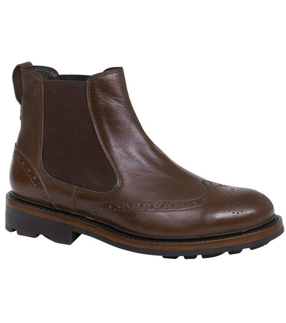 Turnberry Brogue Dealer Boot by Hoggs of Fife | Handmade Boots from Fife Country