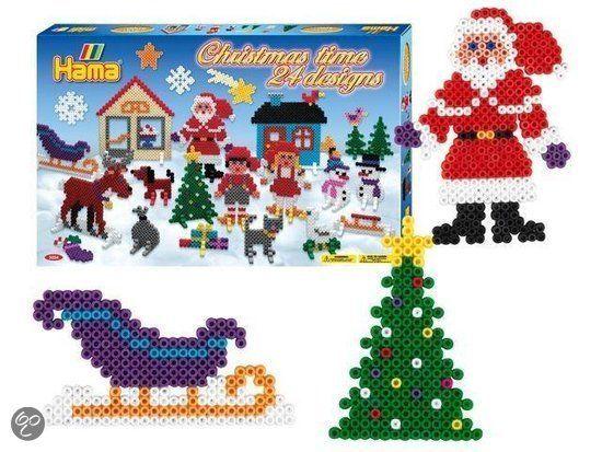 Hama Strijkkralen Kerst
