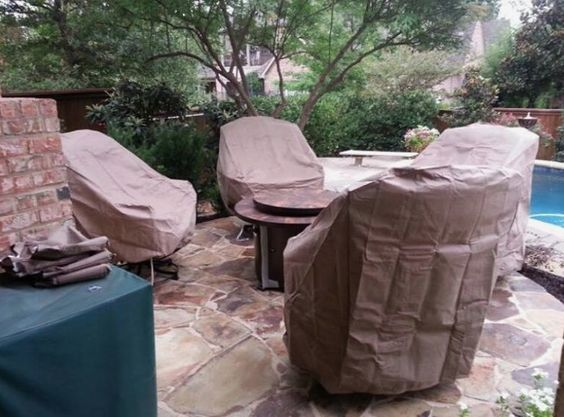 Treasure Garden furniture covers Yard of the Month - July - Yard Art Patio & Fireplace