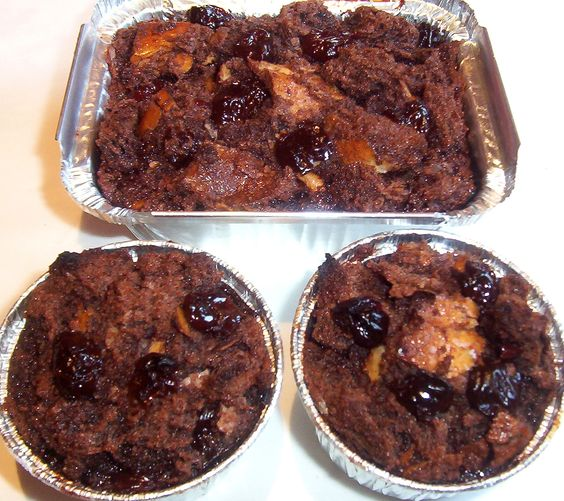 Cherry bread, Bread puddings and Puddings on Pinterest