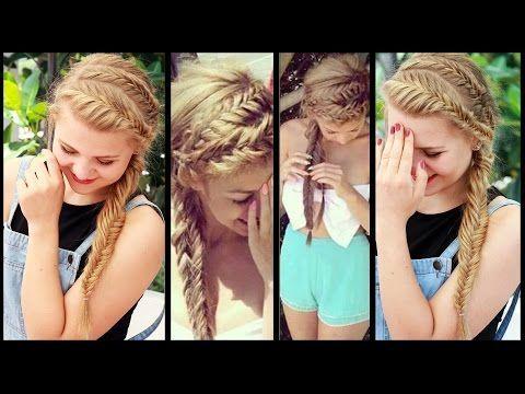 Herringbone Hairstyle With Dominokati Beach Party Leisure Frisuren Freitag Youtube Beach Dominokati Frisuren Hairstyle Hair Styles Hairstyle Hair