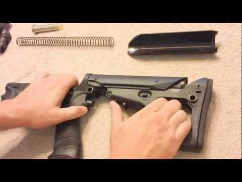 Magpul UBR Stock install on an AR-15 SBR for educational purposes - http://fotar15.com/magpul-ubr-stock-install-on-an-ar-15-sbr-for-educational-purposes/