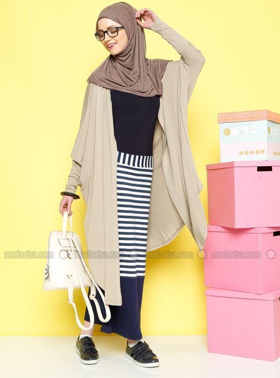 Striped Skirt - Saxe - Benin