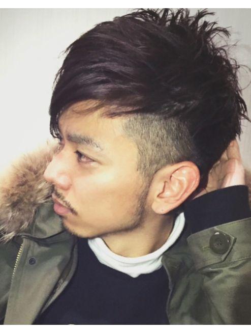 ホロホロヘアー Hair ホロホロhair メンズ アシンメトリー 外国人