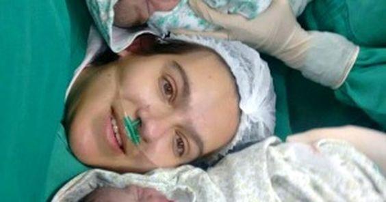 Após morte cerebral da esposa, pai pede ajuda para gêmeas prematuras