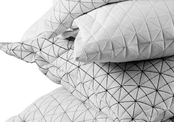Tessellated pillow