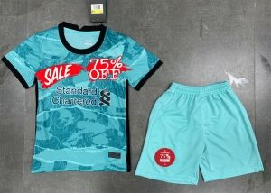 Kids Youth Liverpool 20 21 Wholesale Third Cheap Soccer Kit Sale Affordable Shirt Kids Youth Liverpool 20 21 Wholesale Third In 2020 Kids Suits Soccer Kits Kids Soccer