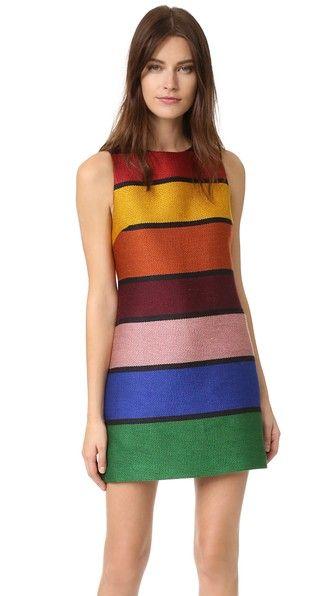 alice + olivia Clyde Shift Dress | SHOPBOP