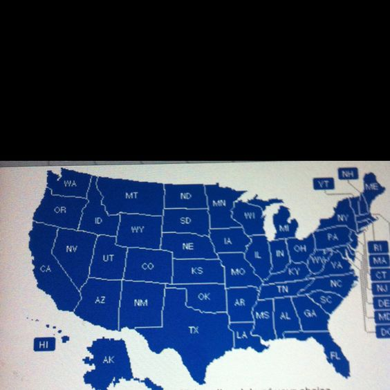 Want to run in every state