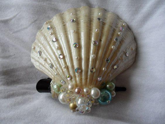 Pinterest the world s catalog of ideas for Seashells for hair