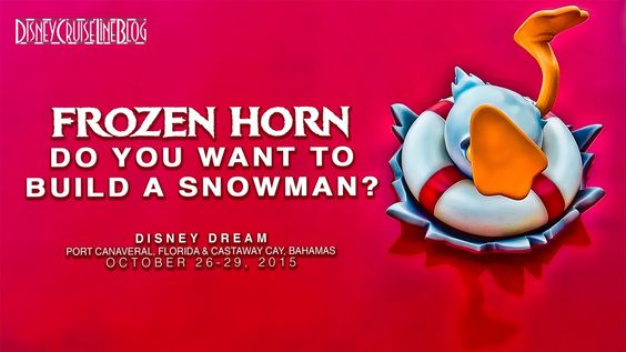 Disney Dream Horn: Do You Want To Build A Snowman (Frozen) Video