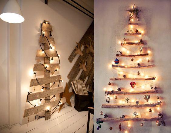 arboles de navidad originales madera: