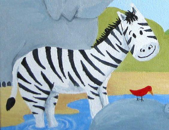 Cebra, Dibujos, ILUSTRACIONES infantiles