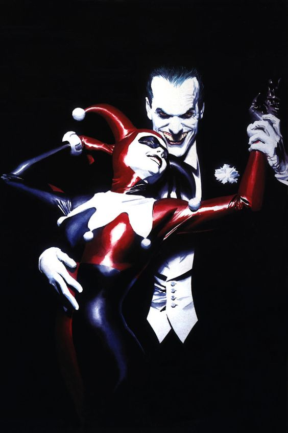 *-*  my favorite alex ross painting. i love the wickedness...: