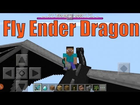 How To Get The Ender Dragon In Minecraft Pe