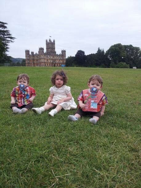 The next generation of Downton Abbey.....