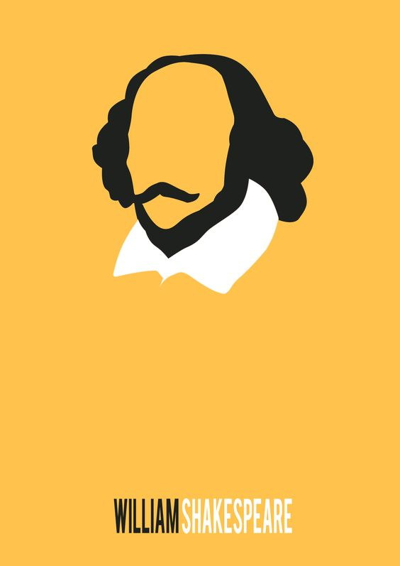 William Shakespeare minimalist poster collection n.1