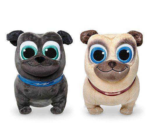Set Of Dog Stuffed Animals, Disney Puppy Dog Pals Plush Gift Set Bingo And Rolly Teddy Bear Stuffed Animal Pet Toys Dogs And Puppies