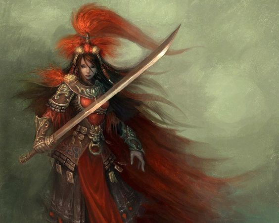 Samurai Female Warrior - Fantasy - wallpapers