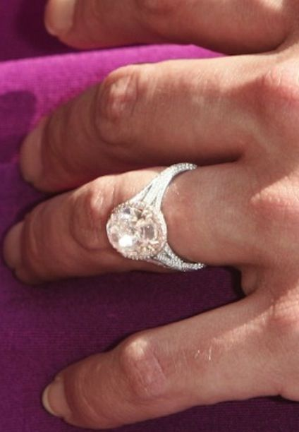 Our Favorite Celebrity Oval Cut Engagement Rings