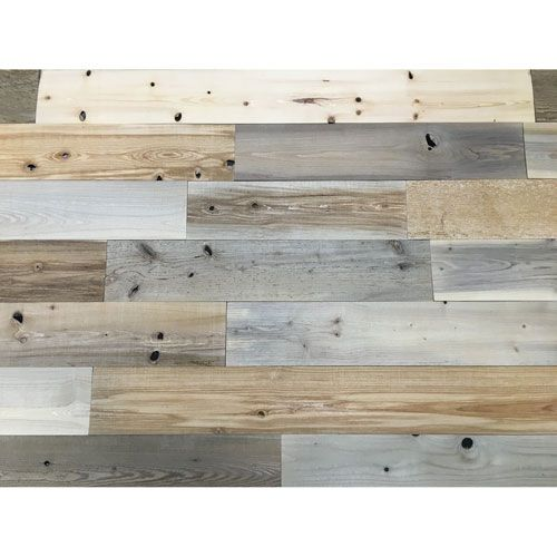 timberchic peel and stick reclaimed natural wood 5 inch. Black Bedroom Furniture Sets. Home Design Ideas