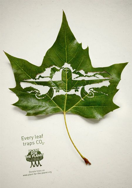 Plant for the Planet Leaf Art. Just AVESOME !!!'!