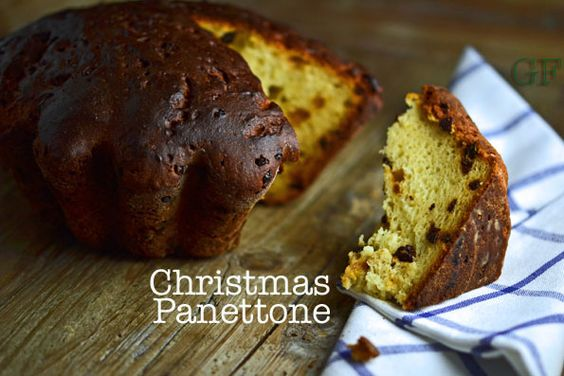 Gluten-Free Christmas Panettone Bread