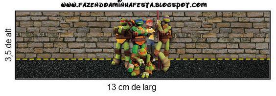 Vejam que legal o nosso novo Kit das Tartarugas Ninjas!! Para você personaliza-lo você pode baixar a fonte das Tartarugas Ninjas que é a: Turtles.Para tirar suas dúvidas sobre as medidas dos moldes desse kit,clique aqui. Se você não sabe mexer nos programas de edição veja nosso vídeosclicando aqui.Se você quer saber qual papel vocêMore