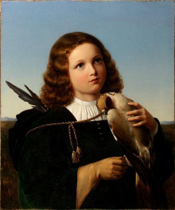 Friedrich Wilhelm von Schadow(1788-1862) German painter.