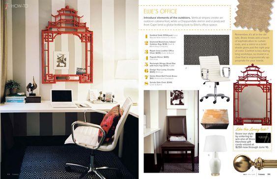 Cute office for Den