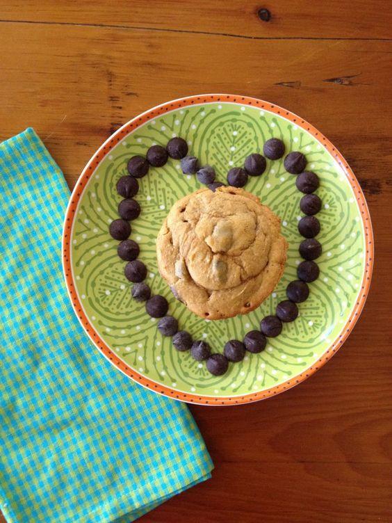 pumpkin chocolate chip muffins.