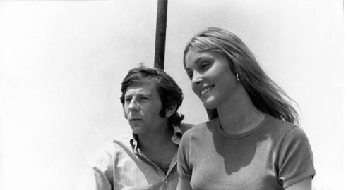 Sharon and Roman in Cannes, 1968