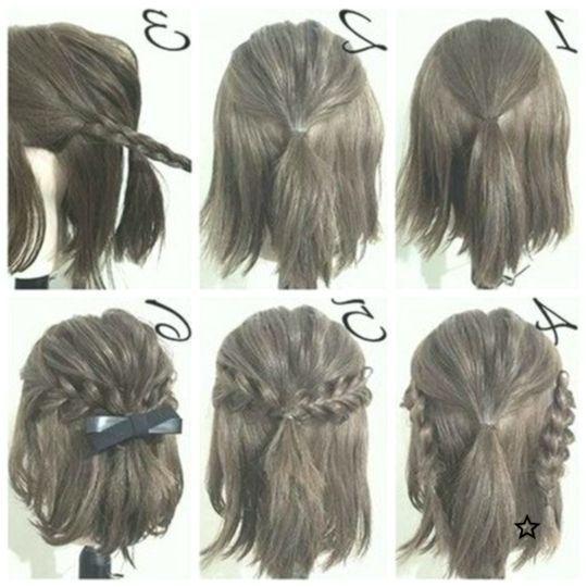 Einfache Frisuren Tutorials Fur Madchen Mit Kurzen Haaren Promhairstyles Eas Haa Haar Styling Kurze Haare Anleitungen Einfache Frisuren Fur Langes Haar