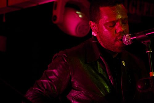 Murray Lightburn - thedears.org/  Taken at #TheDears residency in #Mexico City at the Pasaguero. #concert #brendancoreyb