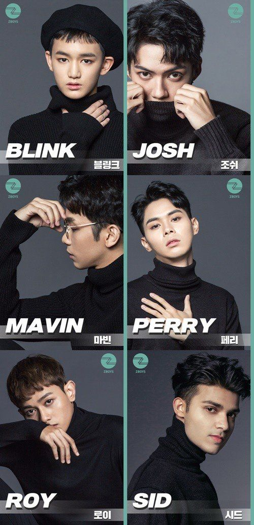 Check Out The Members Of Project Groups Z Girls And Z Boys Each Made Up Of Trainees From 7 Different Countries Allkpop Z Boys Boys Boys Top