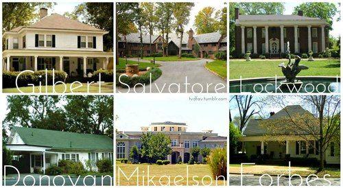 Houses Tvd Vampire Diaries Mystic Falls Vampire
