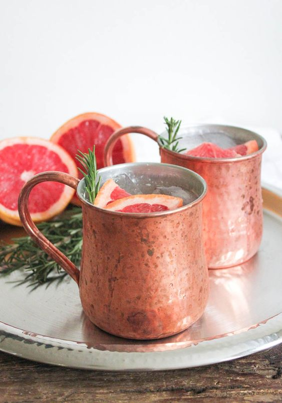 ... - Vodka, Pink Grapefruit Juice, Lime Juice, Ginger Beer, Rosemary