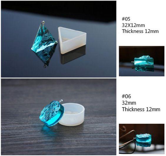 Silikon Form Quadrat klar Kunststoffformen von Kakakakashop auf Etsy
