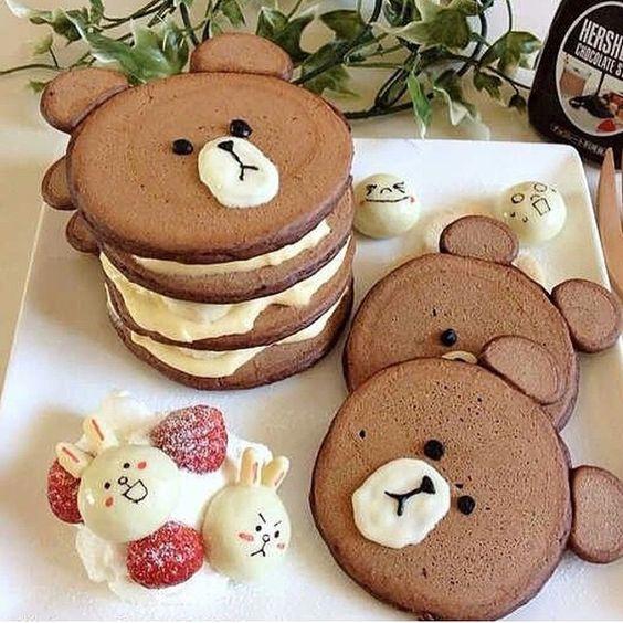 Chocolate pancakes!!