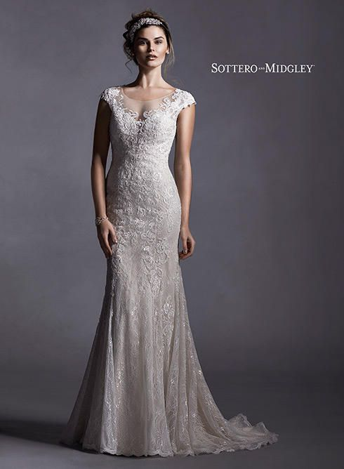 Sottero and Midgley Wedding Dresses and Gowns Sottero and Midgley by Maggie Sottero Quinlynn-5SS025 Sottero and Midgley Collection One Enchanted Evening - Designer Bridal, Pageant, Prom, Evening & Homecoming Gowns