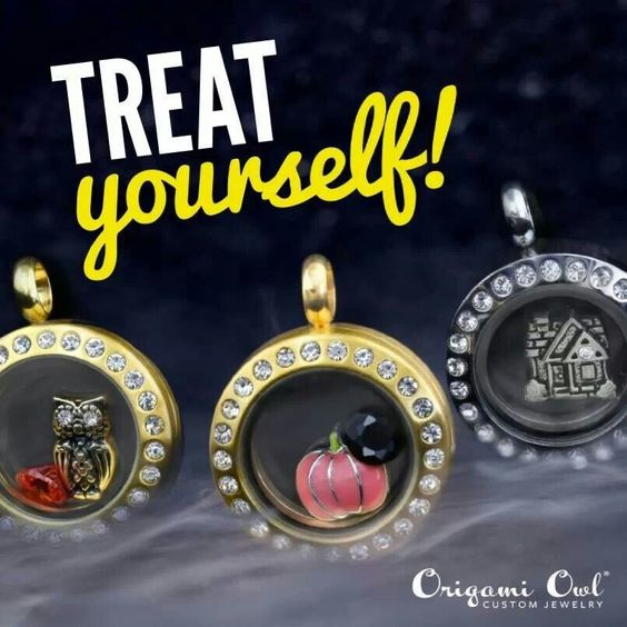 Treat Yourself with Origami Owl! http://CharmingSweetness.OrigamiOwl.com/ https://www.facebook.com/charmingsweetness