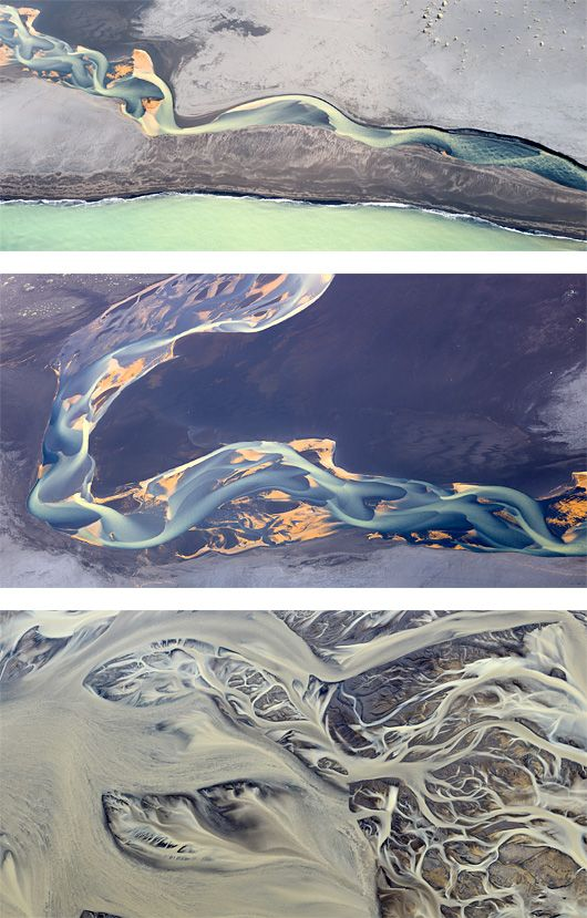 Aerial Photographs of Iceland by Andre Ermolaev   Inspiration Grid   Design Inspiration