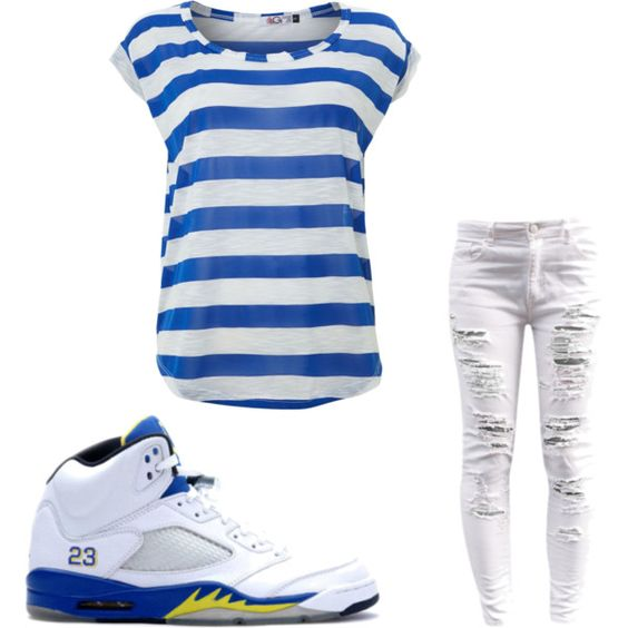 """""""My Outfit"""" by bigdaddyteetee on Polyvore cheap air jordan 5 Laney only $60, save up to 59% off for all #Nikes #Shoes"""