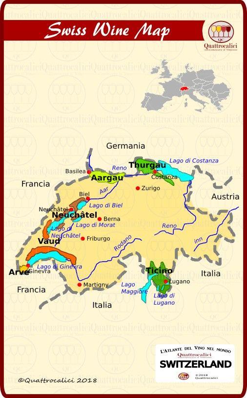 La Svizzera Conoscere Il Vino Reno Svizzera Vino