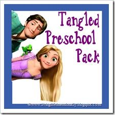 Tangled Learning Pack (ages 2-7) - 30 pages.