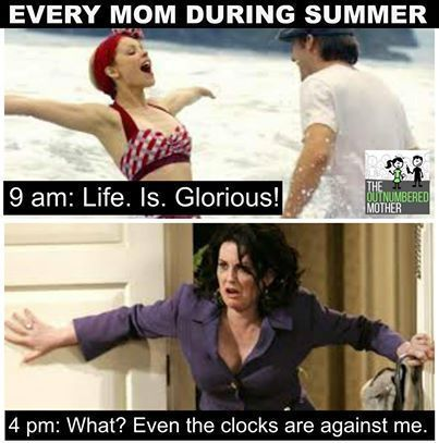 32 Memes for Parents Just Trying to Hold It Together During Summer Break   #funnypics #funnypictures #hilariouspicstures #parentingmemes #summermemes
