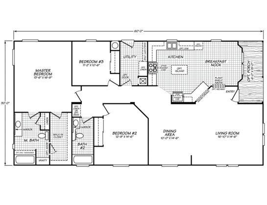 30' x 60' metal barn home plans | copyright © 2014, palm harbor