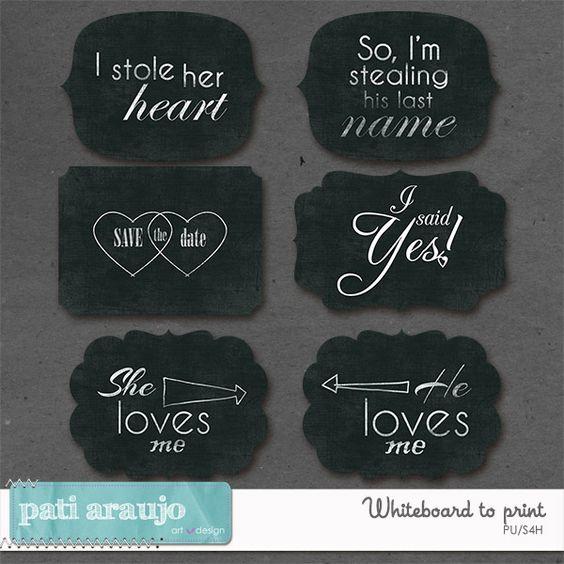 Whiteboard To Print II by Pati Araujo